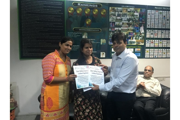 Winners of Digital India Poster making contest