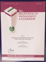 3D... IBA Journal of Management and Leadership