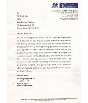 Sheela Foam Pvt. Ltd.